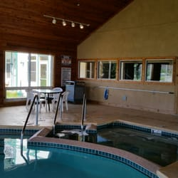 Photo Of Birchwood Lodge Sister Bay Wi United States Indoor Pool Area