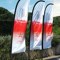 Photo of InsTent Industries - Huntington Beach CA United States. feather promo flags ... & InsTent Industries - 15 Photos - Outdoor Gear - 5402 Research Dr ...