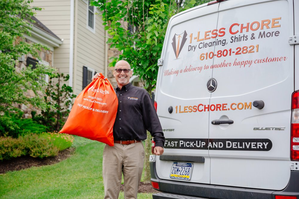 1-Less Chore Dry Cleaning, Shirts & More