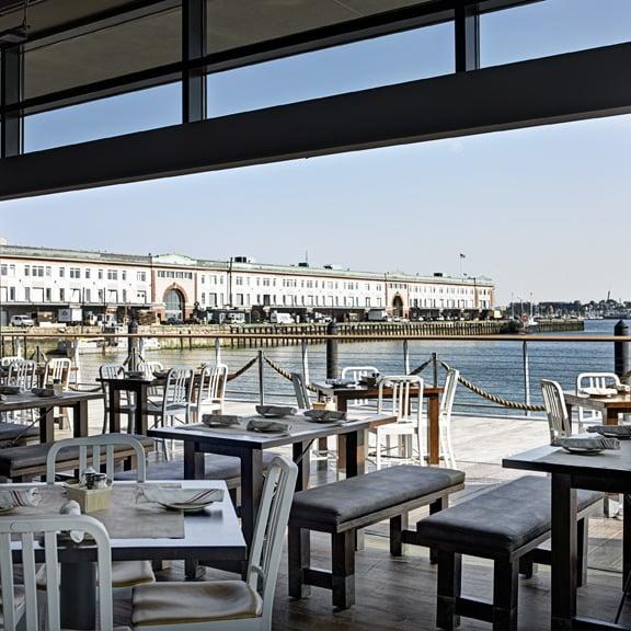 Boston Seaport Restaurant: Floor 1-Patio