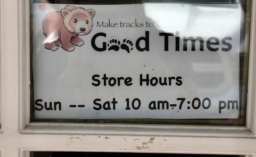 Good Times Gifts and Video: 3189 Hwy 83 N, Seeley Lake, MT