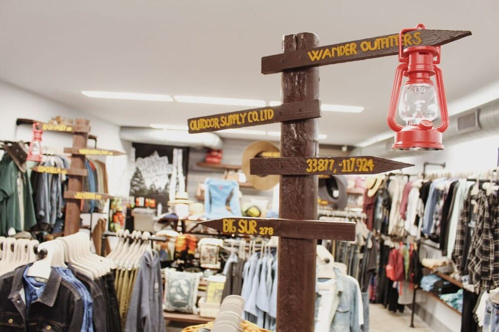 Wander Outfitters: 217 N Harbor Blvd, Fullerton, CA