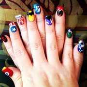 Nail tip nail salons 11629 san jose blvd southside star wars stromtroopers and photo of nail tip jacksonville fl united states avengers nail art done prinsesfo Choice Image