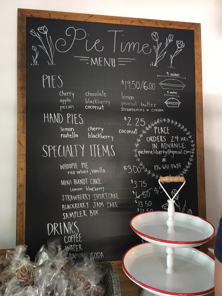 Pie Time: 111 N Water St, Liberty, MO