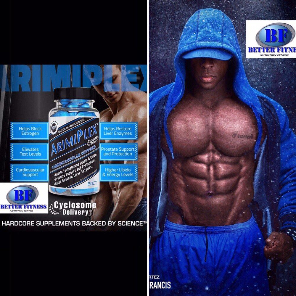 Arimplex: A great PCT that, blocks estrogen, provides