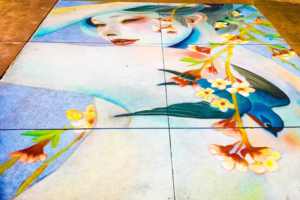 Clearwater Beach Chalk Art Festival: 333 South Gulfview Blvd, Clearwater, FL