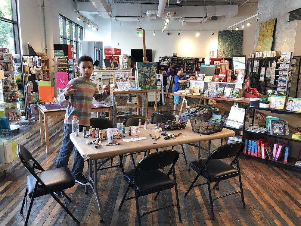 Binders Art Supplies and Frames