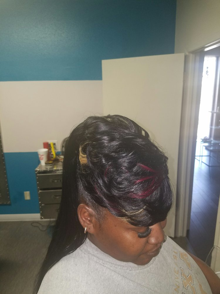 Quick Weave Bang With Ponytail In The Back Yelp
