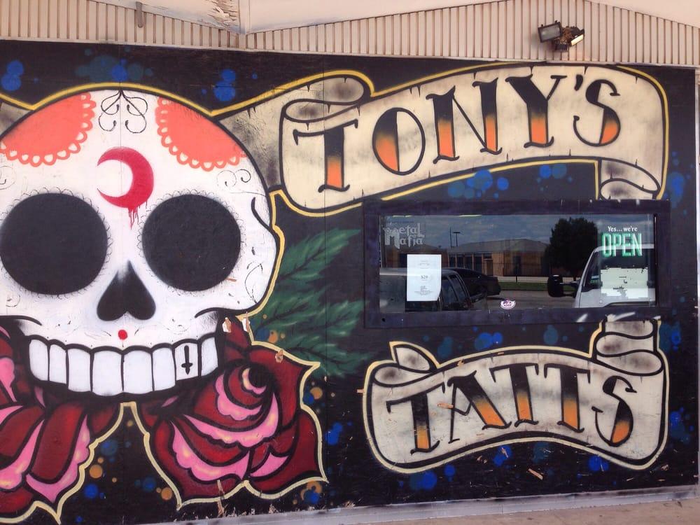 Tony's Tattoos: 3552 N 6th St, Abilene, TX
