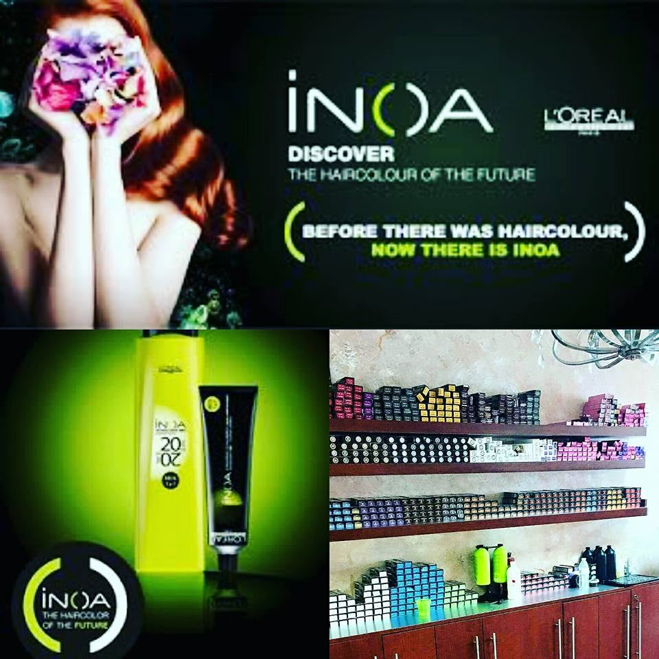 We Are A Proud Loreal Salon Michaels Uses Inoa Which Is An Ammonia