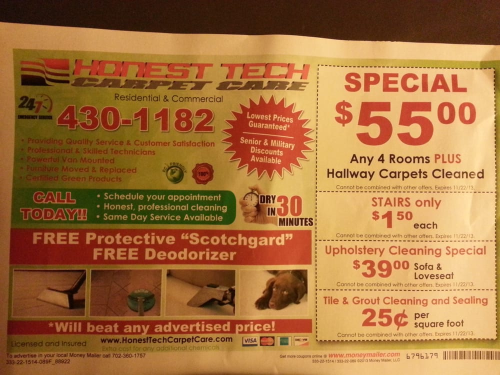 Honest Tech Carpet Care - Cleaner u0026 Cleaning Services ...