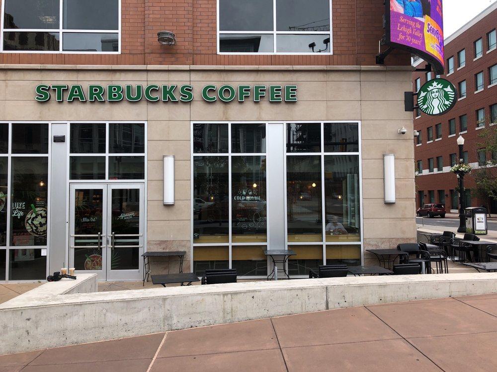 Starbucks: 645 Hamilton St, Allentown, PA
