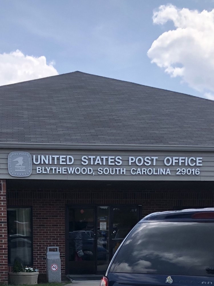 US Post Offices: 401 McNulty St, Blythewood, SC