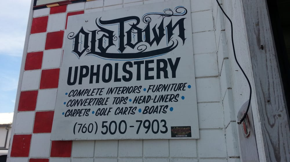 Eric The Owner Of Oldtown Upholstery Did An Excellent Job In