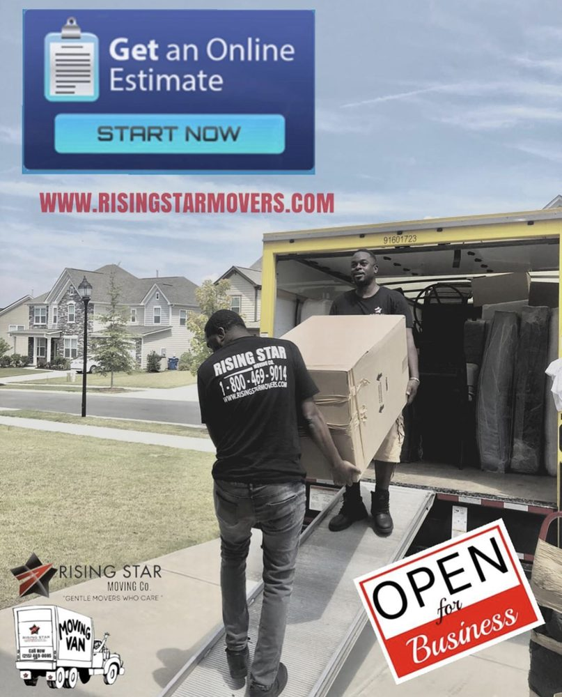Rising Star Moving & Storage Company: 4309 County Line Rd, Chalfont, PA