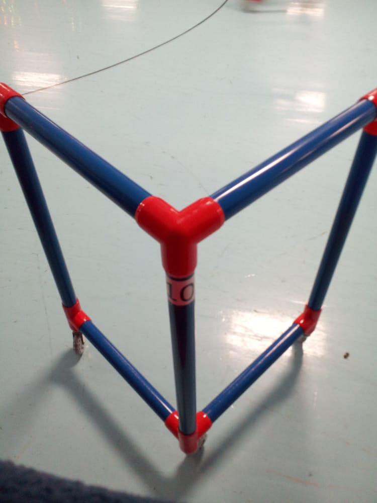 Roller Skate Support- similar to a walker but you use it