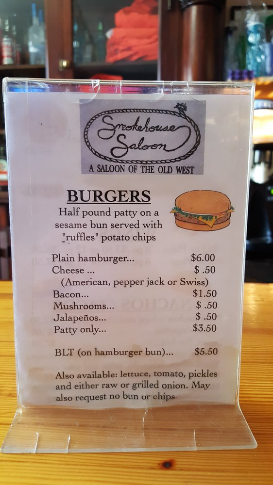 Smokehouse Saloon: 526 Greybull Ave, Greybull, WY