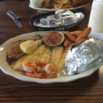 Photo Of Golden Bay Seafood Restaurant Columbia Sc United States Broiled Deluxe