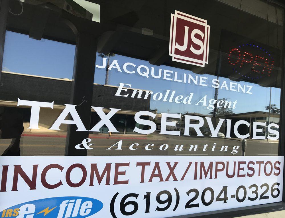 Jacqueline Saenz - Accounting & Tax Services: 350 E St, Chula Vista, CA