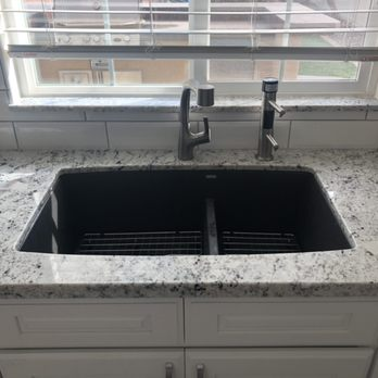 We love this black stone kitchen sink. We will help you out ...