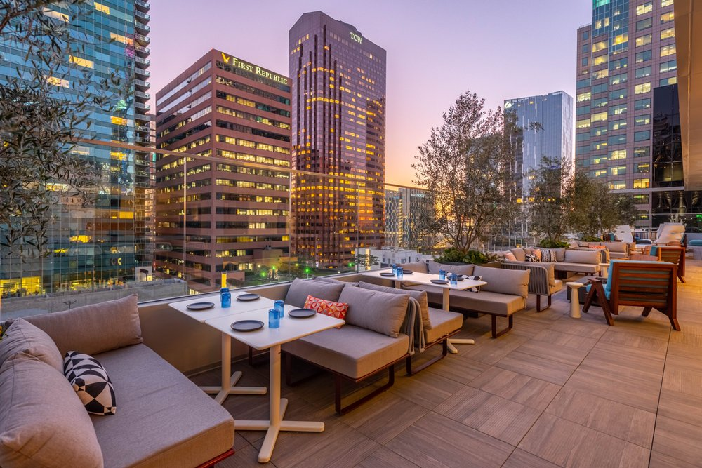 The Rooftop at The Wayfarer Downtown LA