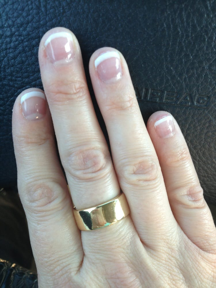 Photo Of Creative Nails Denham Springs La United States French Tip Shellac
