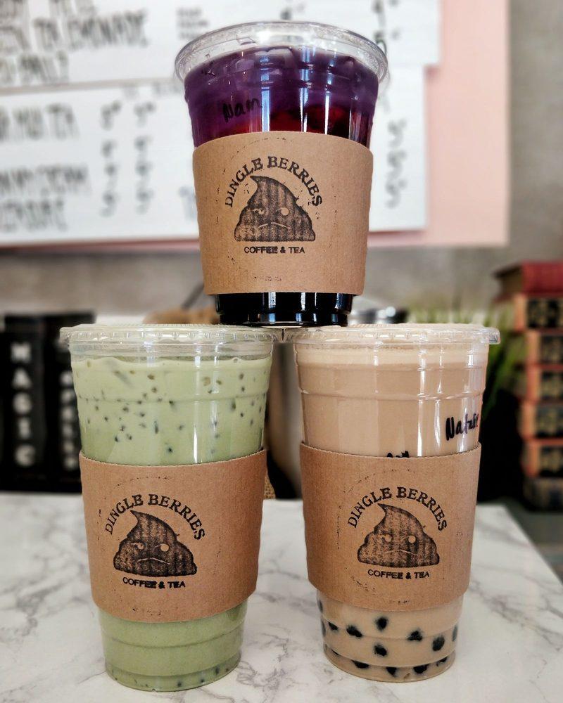 Dingle Berries Coffee & Tea: 9711 Valley Blvd, Rosemead, CA