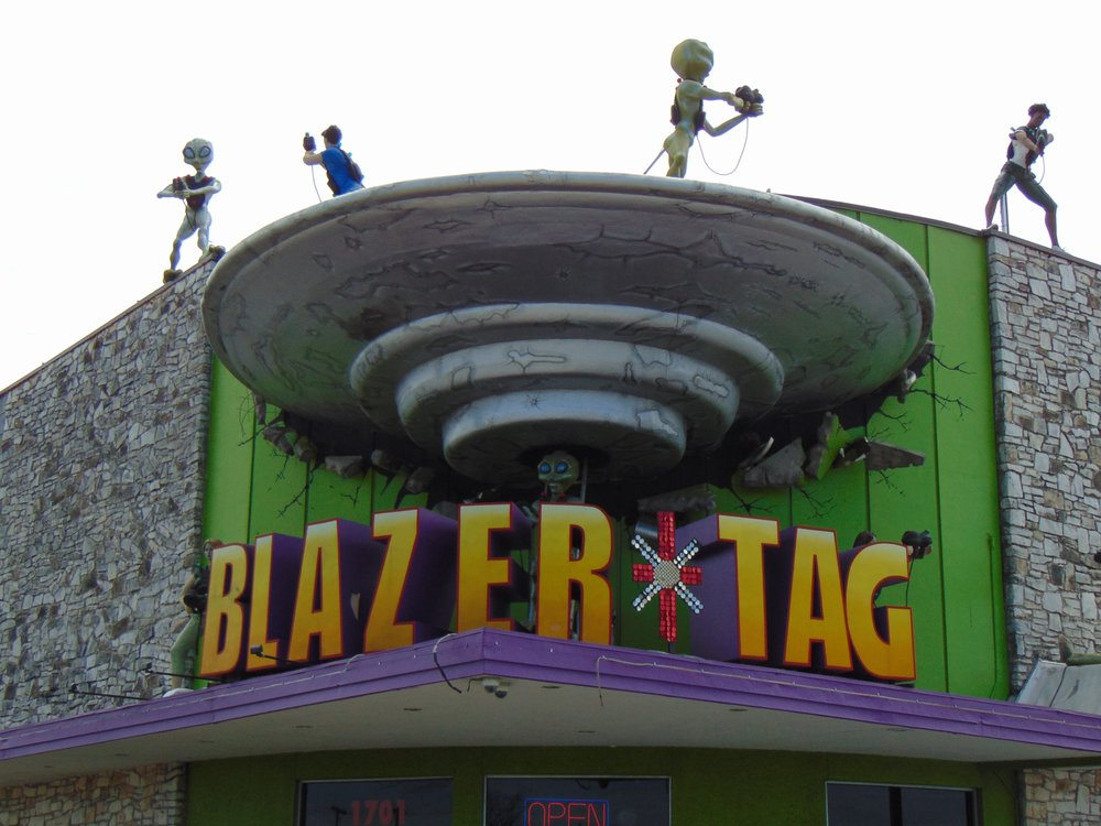 Blazer Tag Adventure Center