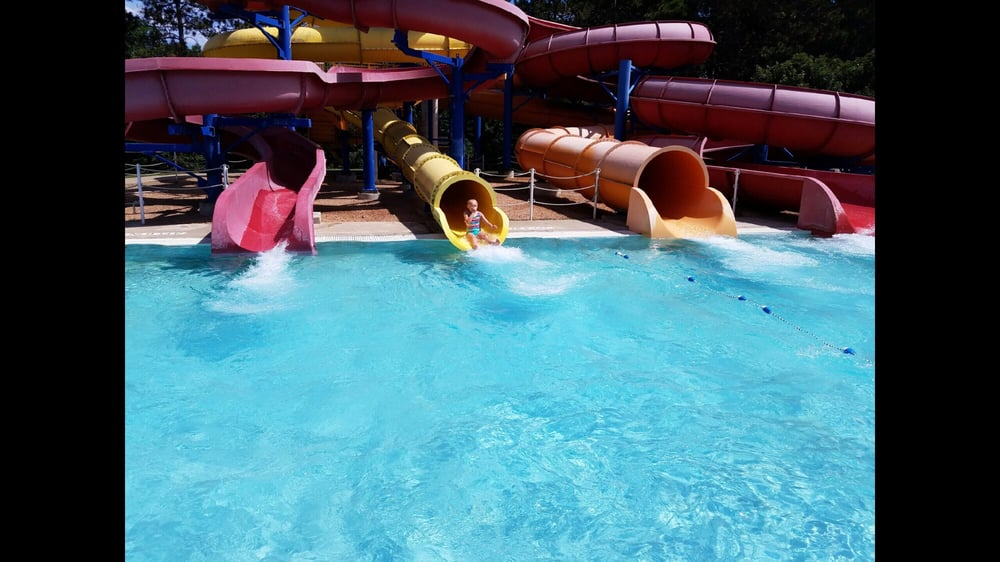 Have faced water park oops tube pity