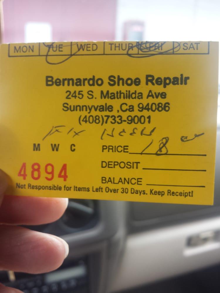 Bernardo Shoe Repair