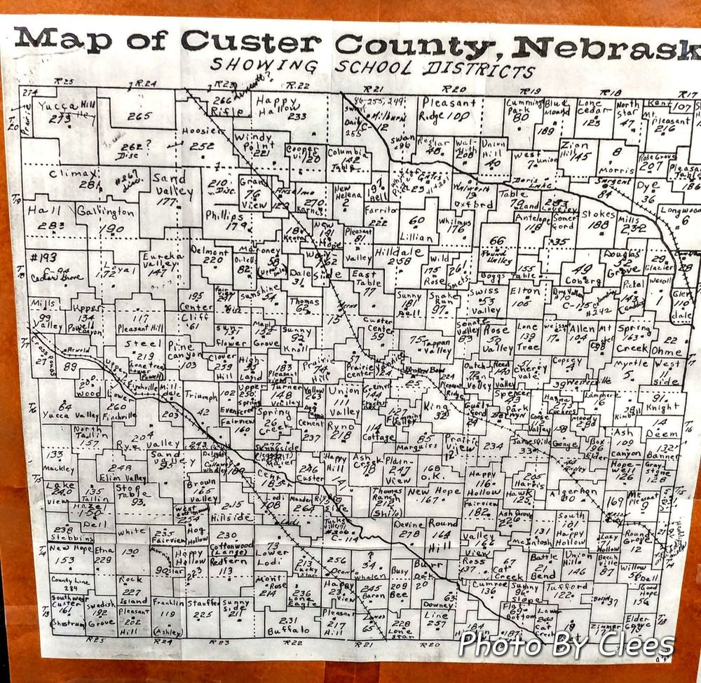 Custer County Museum: 445 S 9th Ave, Broken Bow, NE