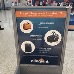 Photo Of Allegiant Airlines Indianapolis In United States Baggage Rules Know