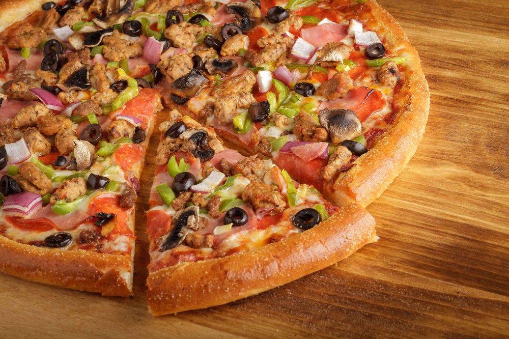 The Great American Pizza Factory: 2301 N Zaragoza, El Paso, TX