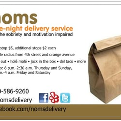 Late Night Food Delivery Long Beach