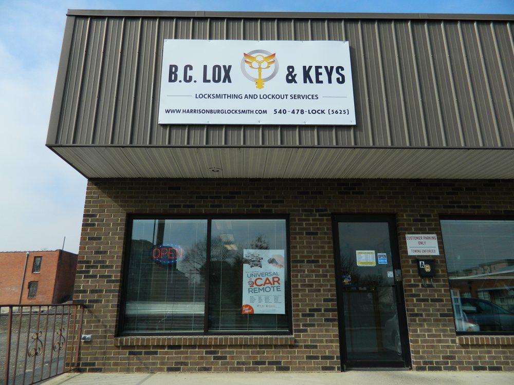 B.C. Lox & Keys: 167 N Liberty St, Harrisonburg, VA