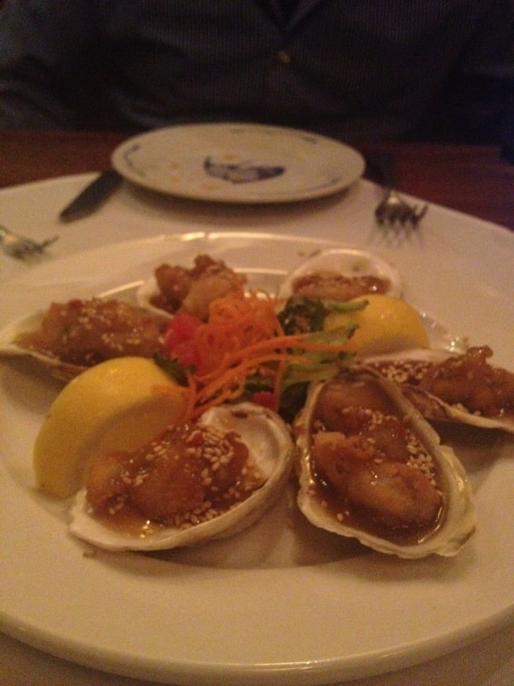 Oysters were perfect and delicious yelp for Flying fish carmel