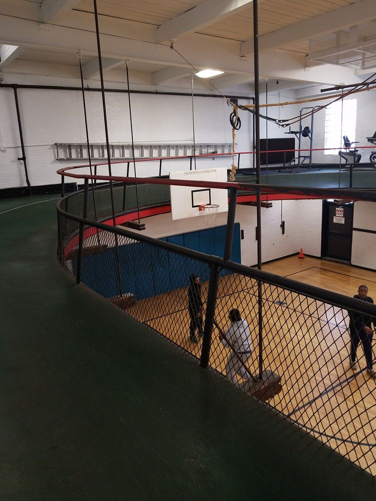 1ba0cf5beee3 Track above the basketball court - Yelp