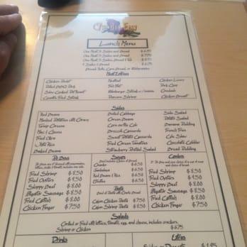 City Cafe Decatur Al Menu