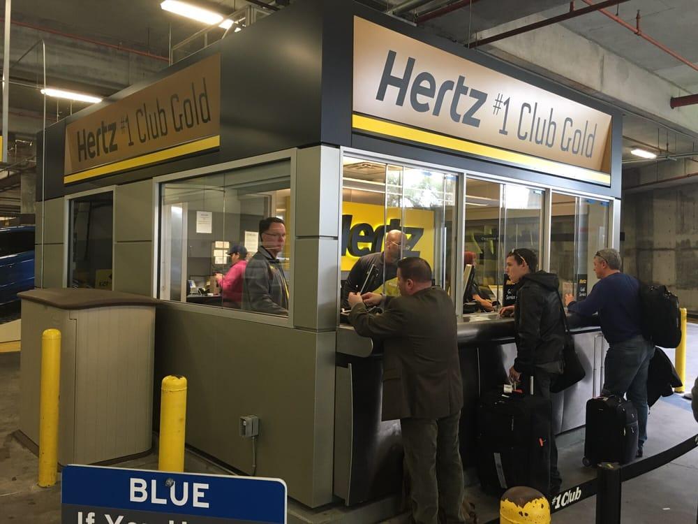Tampa Airport Hertz Rental Car Return