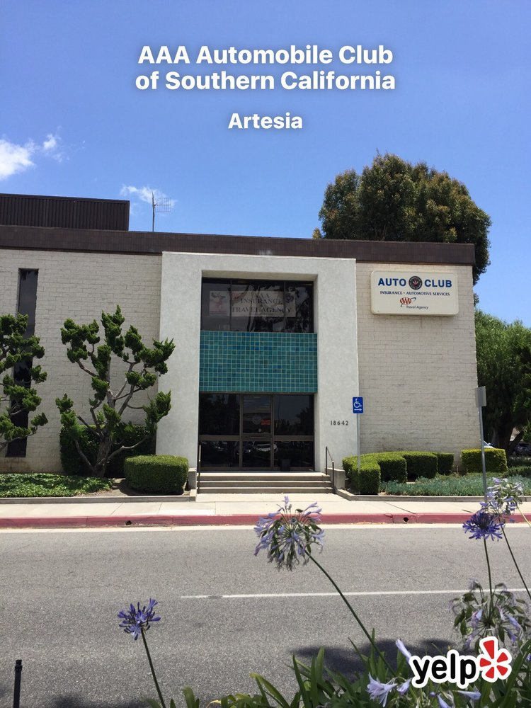 AAA - Automobile Club of Southern California: 18642 South Gridley Rd, Artesia, CA