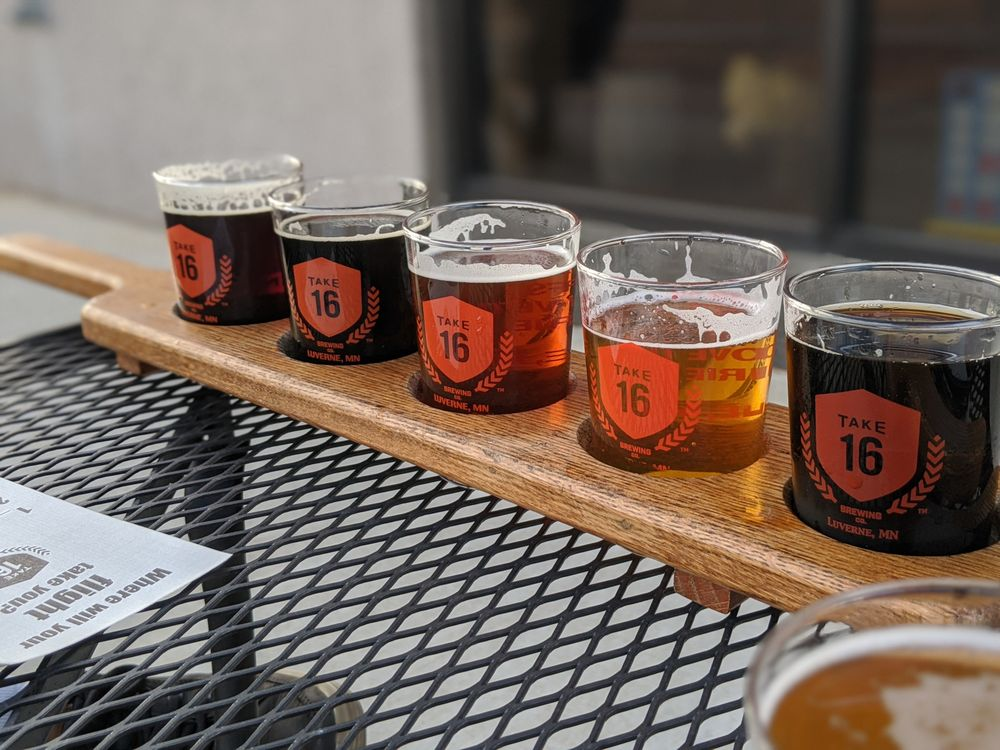 Take 16 Brewing: 509 East Main St, Luverne, MN