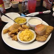 Catfish And Country Fried Steak
