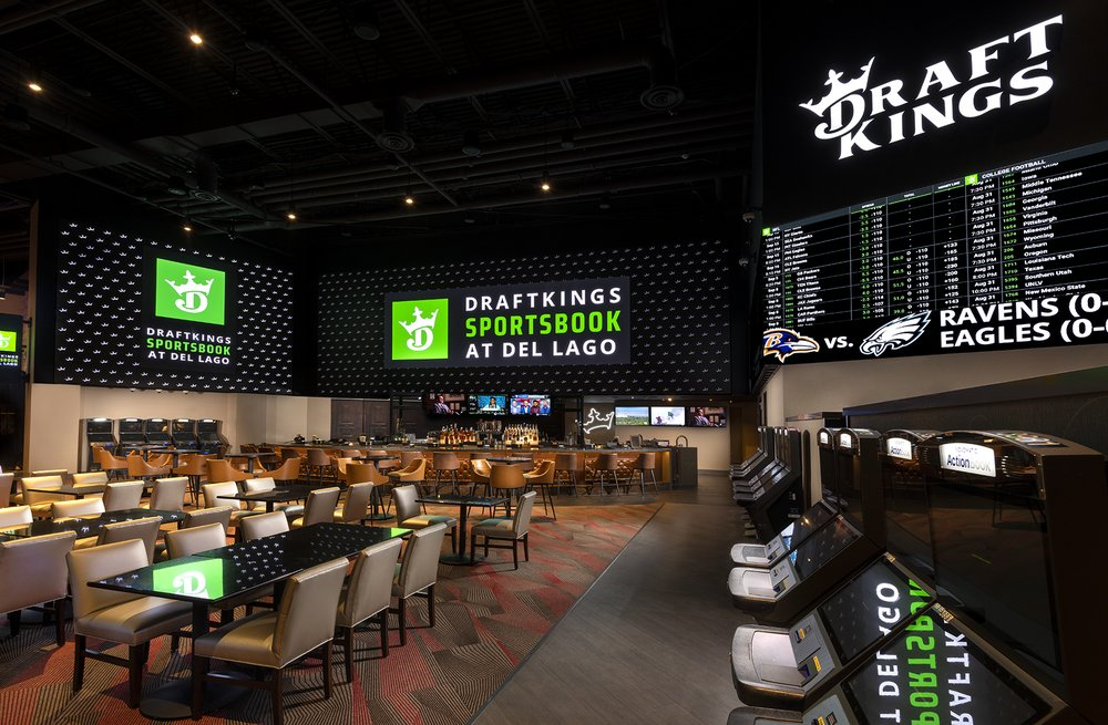 DraftKings Sportsbook: 1133 State Route 414, Waterloo, NY