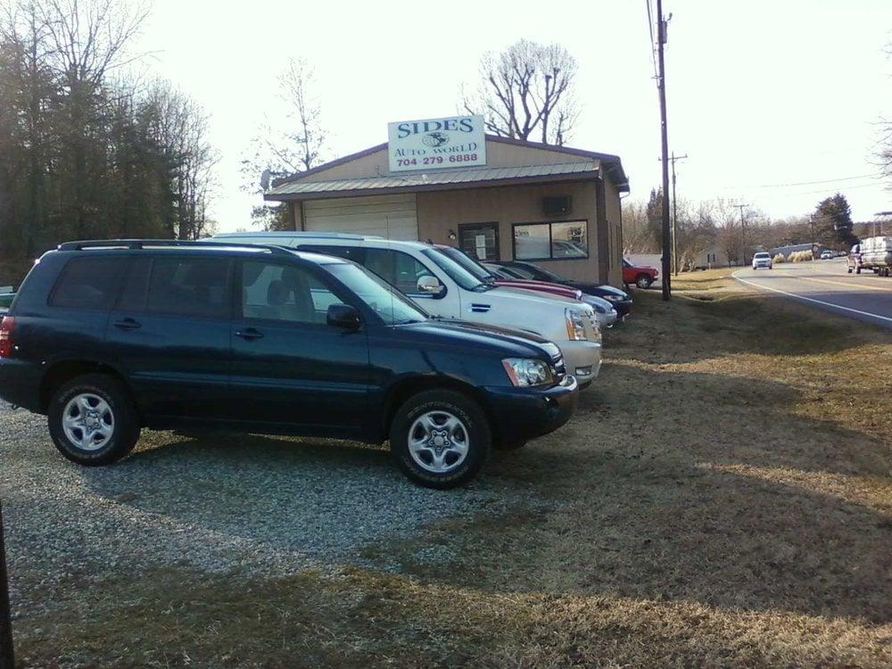 Sides Auto World: 800 S Salisbury Ave, Granite Quarry, NC
