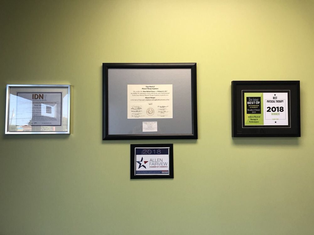 Achieve Physical Therapy & Performance: 1206 E Main St, Allen, TX