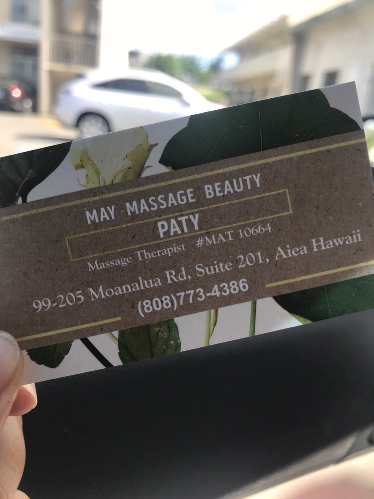 May Massage Beauty: 99-205 Moanalua Rd, Aiea, HI