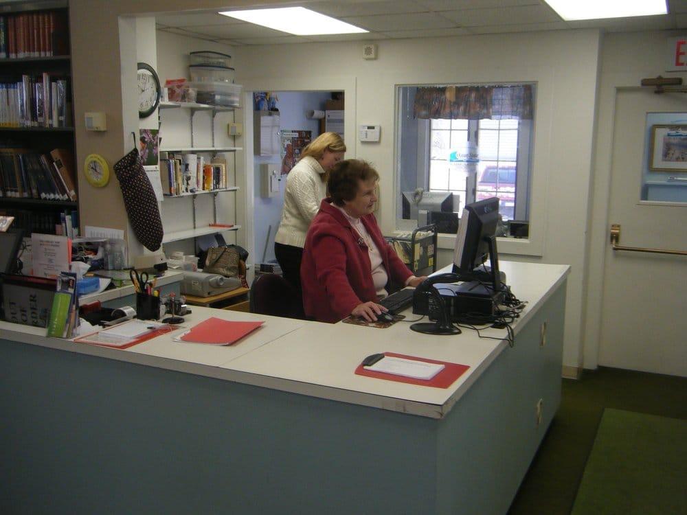 Ashaway Free Library: 15 Knight St, Ashaway, RI