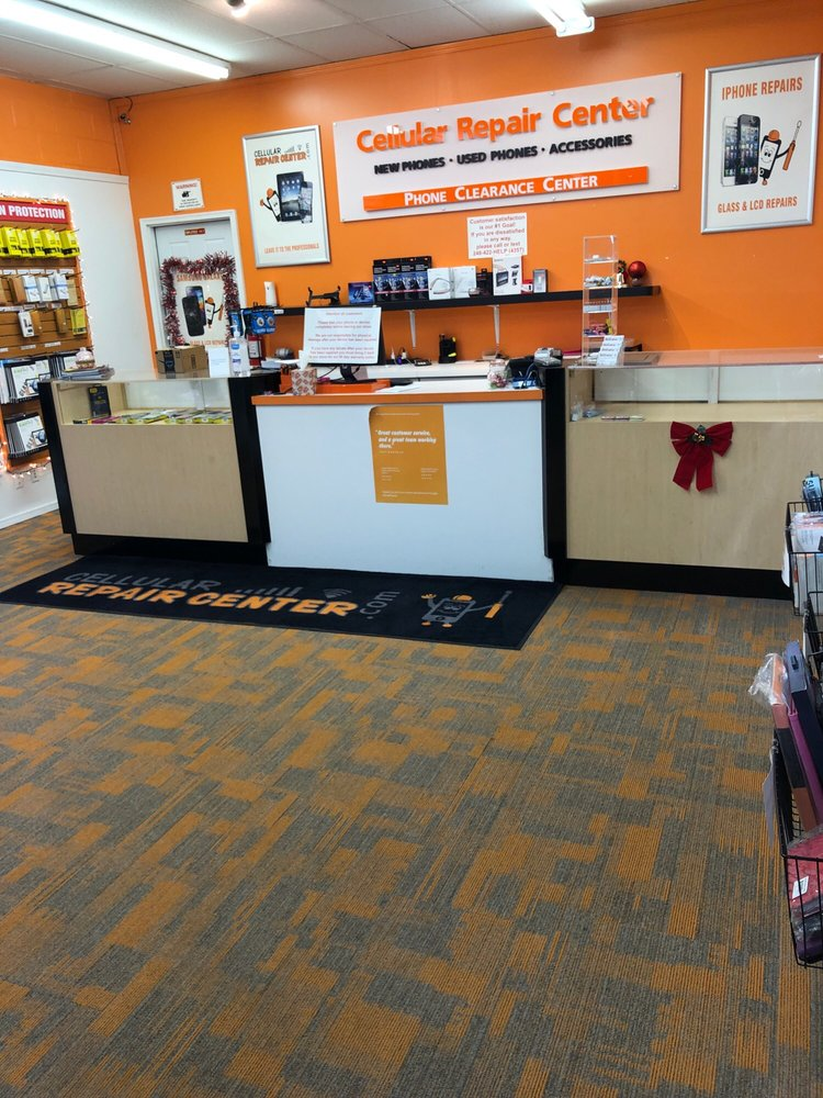 Cellular Repair Center: 15080 Middlebelt Rd, Livonia, MI