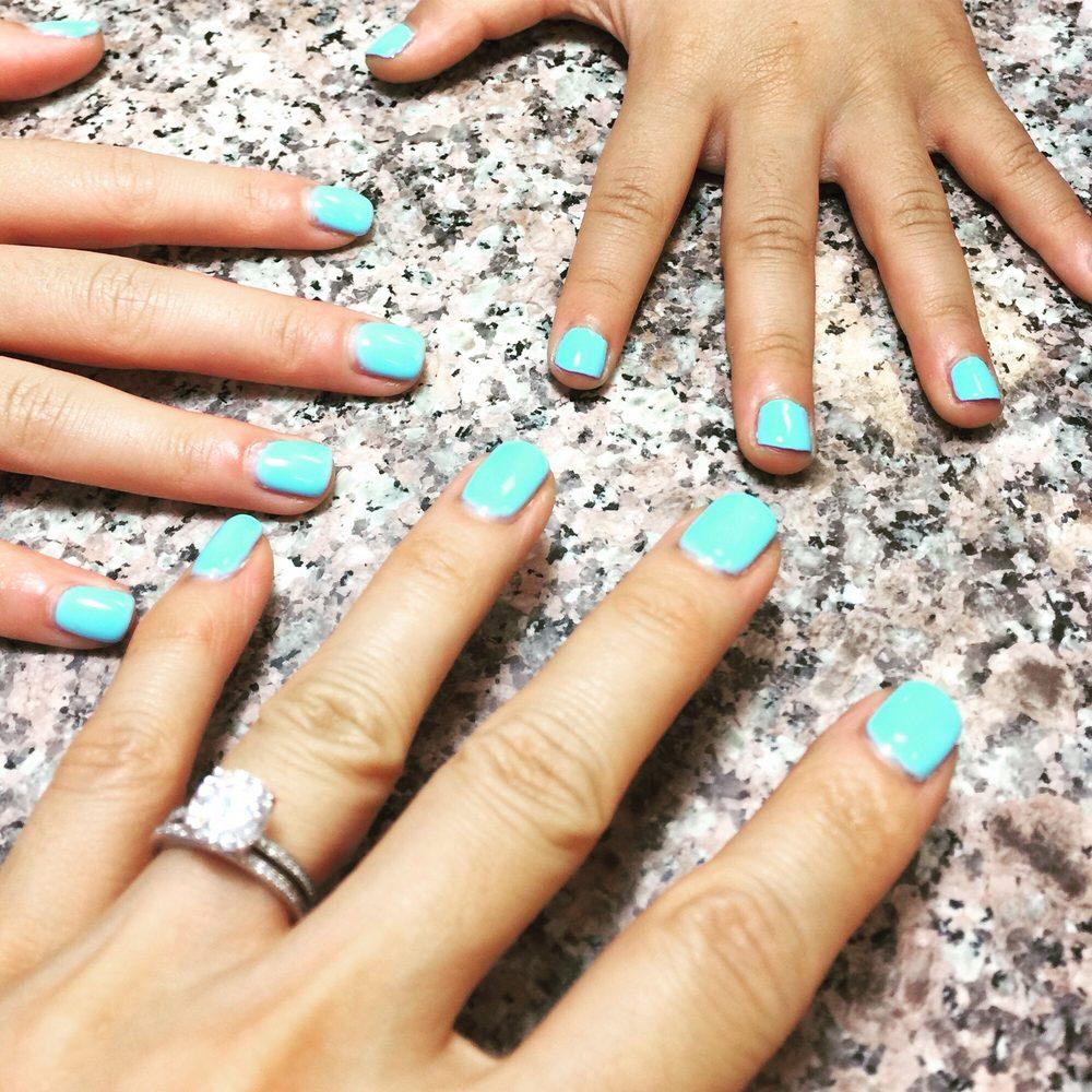 likemotherlikedaughters Tiffany blue inspired nail polish ...