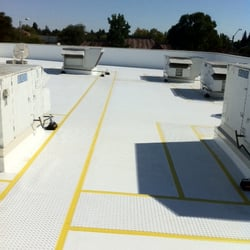 Good Photo Of Roofing Logistics   Oakland, CA, United States. Single Ply Roof  System ...